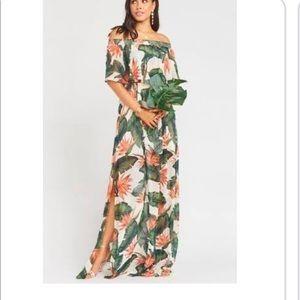 Dress Hacienda Maxi Paradise Found